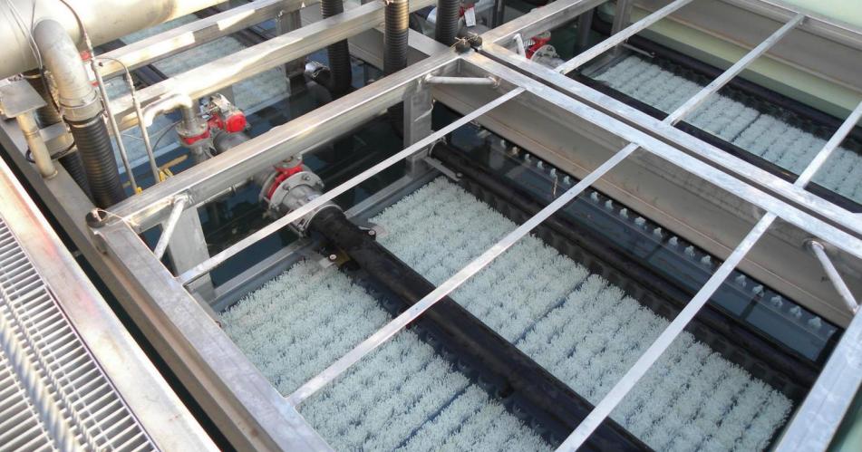 màng lọc mbr trong xử lý nước thải nhà hàng